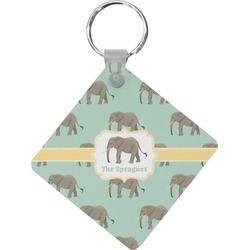 Elephant Diamond Key Chain (Personalized)