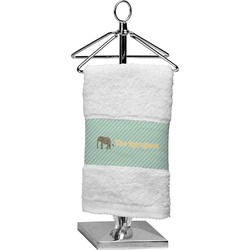 Elephant Finger Tip Towel (Personalized)
