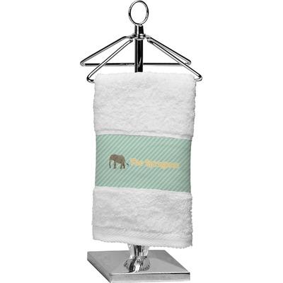 Elephant Cotton Finger Tip Towel (Personalized)