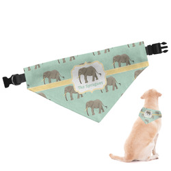 Elephant Dog Bandana - Large (Personalized)