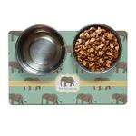 Elephant Dog Food Mat (Personalized)