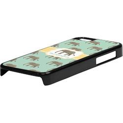 Elephant Plastic iPhone 5C Phone Case (Personalized)