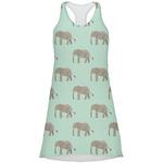 Elephant Racerback Dress (Personalized)