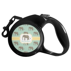 Elephant Retractable Dog Leash - Multiple Sizes (Personalized)