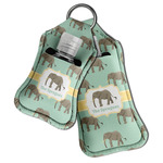 Elephant Hand Sanitizer & Keychain Holder (Personalized)