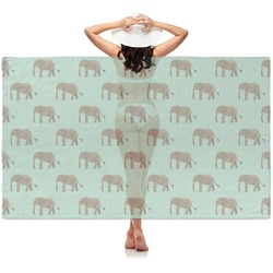 Elephant Sheer Sarong (Personalized)