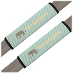 Elephant Seat Belt Covers (Set of 2) (Personalized)