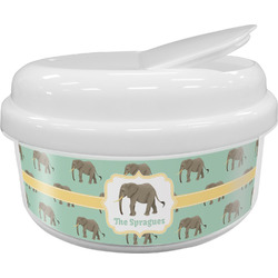 Elephant Snack Container (Personalized)