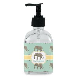 Elephant Soap/Lotion Dispenser (Glass) (Personalized)