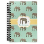 Elephant Spiral Bound Notebook (Personalized)