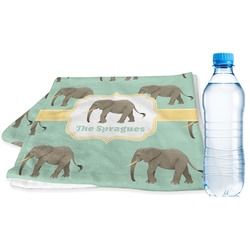 Elephant Sports & Fitness Towel (Personalized)