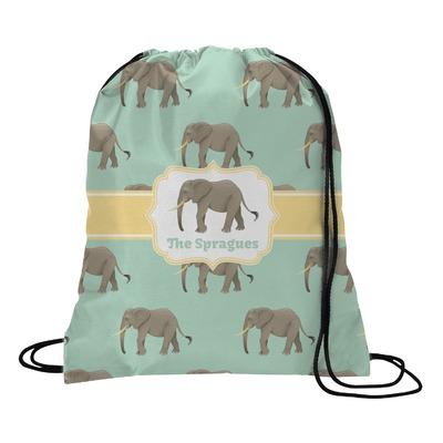 Elephant Drawstring Backpack (Personalized)