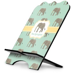 Elephant Stylized Tablet Stand (Personalized)