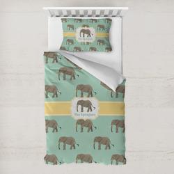 Elephant Toddler Bedding w/ Name or Text