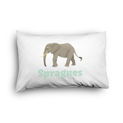 Elephant Pillow Case - Toddler - Graphic (Personalized)