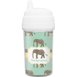 Elephant Toddler Sippy Cup (Personalized)