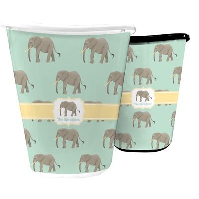 Elephant Waste Basket (Personalized)