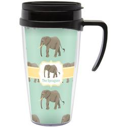 Elephant Travel Mug with Handle (Personalized)