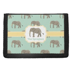 Elephant Trifold Wallet (Personalized)