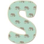 Elephant Letter Decal - Custom Sizes (Personalized)