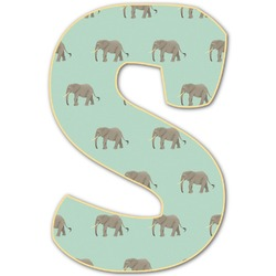 Elephant Letter Decal - Custom Sizes (Personalized)