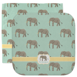 Elephant Facecloth / Wash Cloth (Personalized)