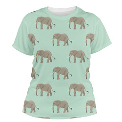 Elephant Women's Crew T-Shirt (Personalized)