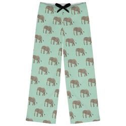 Elephant Womens Pajama Pants (Personalized)