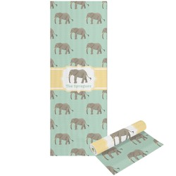 Elephant Yoga Mat - Printable Front and Back (Personalized)