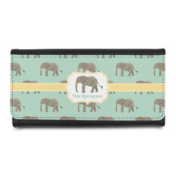 Elephant Leatherette Ladies Wallet (Personalized)