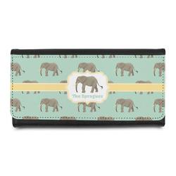 Elephant Leatherette Ladies Wallet (Personalized)