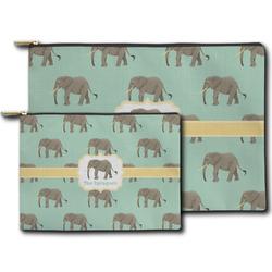 Elephant Zipper Pouch (Personalized)