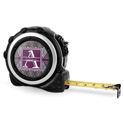Knit Argyle Tape Measure - 16 Ft (Personalized)