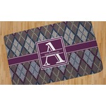 Knit Argyle Area Rug (Personalized)