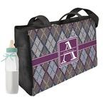 Knit Argyle Diaper Bag (Personalized)