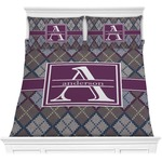 Knit Argyle Comforters (Personalized)