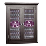 Knit Argyle Cabinet Decal - Custom Size (Personalized)