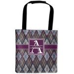 Knit Argyle Auto Back Seat Organizer Bag (Personalized)