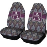 Knit Argyle Car Seat Covers (Set of Two) (Personalized)