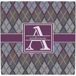 Knit Argyle Ceramic Tile Hot Pad (Personalized)