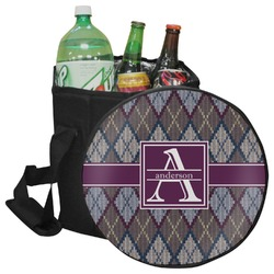 Knit Argyle Collapsible Cooler & Seat (Personalized)