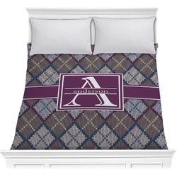 Knit Argyle Comforter (Personalized)
