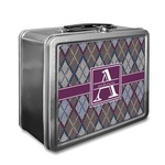 Knit Argyle Lunch Box (Personalized)