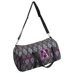 Knit Argyle Duffel Bag (Personalized)