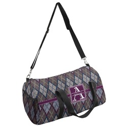 Knit Argyle Duffel Bag - Multiple Sizes (Personalized)
