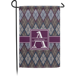 Knit Argyle Garden Flag - Single or Double Sided (Personalized)
