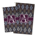 Knit Argyle Golf Towel - Full Print w/ Name and Initial