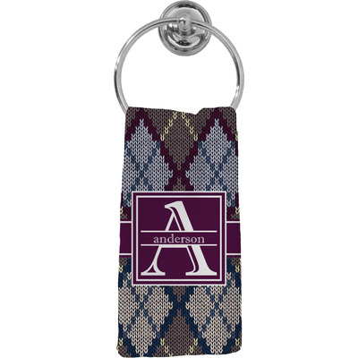 Knit Argyle Hand Towel - Full Print (Personalized)