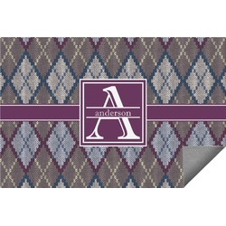 Knit Argyle Indoor / Outdoor Rug - 8'x10' (Personalized)