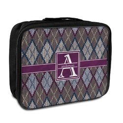 Knit Argyle Insulated Lunch Bag (Personalized)